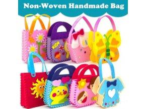 Hračky - tvoření s dětmi - ruční tvoření pro děti dětská kabelka - kabelky - ruční tvoření - dárky pro děti