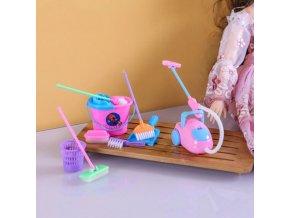 Hračky - set na uklízení pro panenky - barbie - hračky pro dívky - vánoční dárek