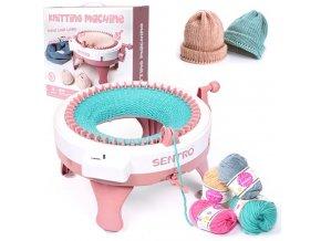 Hračky - dětský háčkovací stroj pro dívky - hračky pro dívky - háčkování - pletací stroj