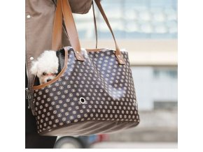 Pes - módní kvalitní taška na malého psa - taška na psa - chovatelské potřeby - výprodej skladu