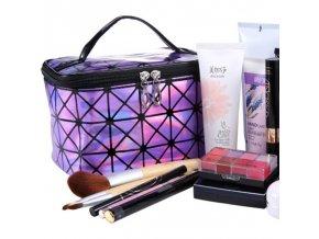Taška - cestovní taška na kosmetiku - cestování - kosmetická taška - dárek pro ženu - výprodej skladu