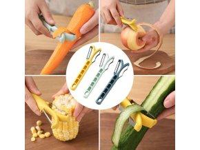 Kuchyně - multifunkční škrabka na zeleninu do kuchyně - škrabka na brambory - nádobí