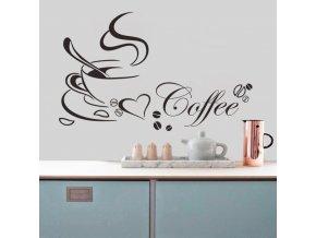 Dekorativní samolepky na zeď - Coffee