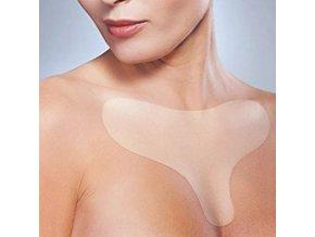 Silikonová podložka proti vráskám na hrudník - vyhlazení vrásek - výprodej skladu - dárek pro ženu