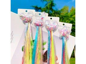 Vlasy - účesy - dětská barevná ozdoba do vlasů - dárky pro děti - slevy dnes