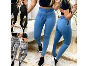 Oblečení - džíny - dámské legínové kalhoty ve třech variantách - legíny - dámské legíny - slevy dnes
