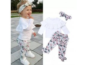Dětské oblečení - dětský set oblečení pro holčičku ve 4 variantách - výprodej skladu