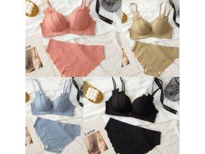 oblečení  - podprsenky - dámský set spodního prádlo z příjemného materiálu - dámské spodní prádlo - dámské kalhotky