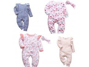 Dětské oblečení - krásné oblečky pro holčičku v různých variantách - body