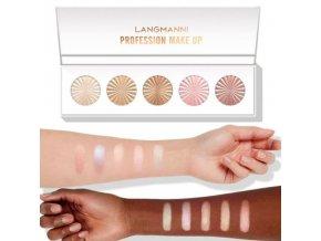 Kosmetika - make up - rozjasňovací paletka s vysokým pigmentem - výprodej skladu