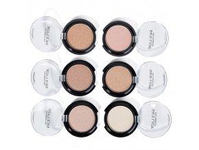 Kosmetika - make up - rozjasňovač v různých barvách - dárky pro ženu - líčení - dárky