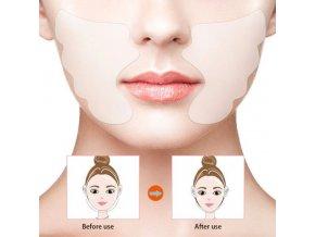 Kosmetika - protivráskový polštářek na tváře na opakované použití - proti vráskám - dárky pro ženy
