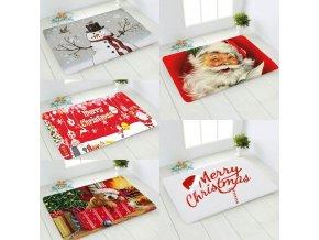 Předložky - vánoce - rohožka s vánočním motivem  před dveře - rohožka - výprodej skladu