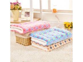 Zvířecí pelíšek - různé barvy - 50x50cm - SLEVA 60% (Barva Růžová)