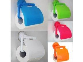 Barevné držáky toaletního papíru - různé barvy - SLEVA 60% (Barva Růžová)