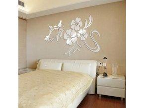 Samolepící dekorace na zeď - květina