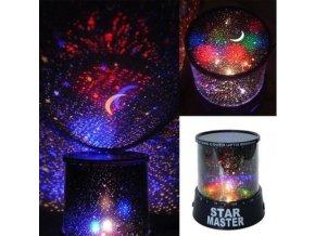Romantický LED projektor hvězd