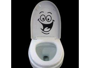 Dekorativní samolepka na toaletu