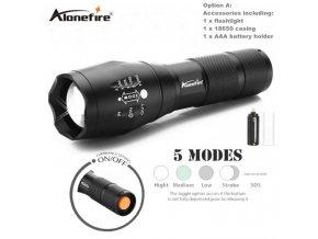 LED baterka s několika funkcemi