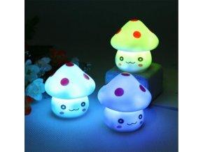 Dekorativní LED osvětlení - dětská houbička