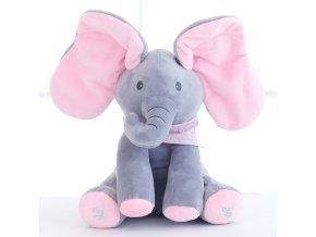 Dětský plyšový sloník - různé barvy - SLEVA 50% (Typ 3)