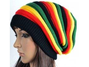 Dámská zimní rasta čepice