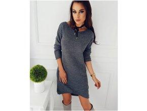 Dámské svetrové šaty - SLEVA 35% (Velikost XL)