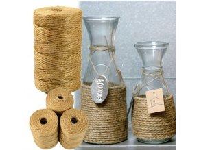 Přírodní dekorační jutové lano