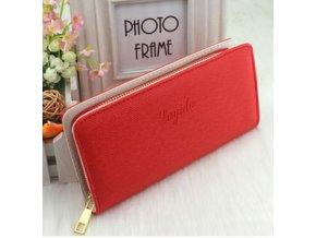 Dámská fashion červená peněženka