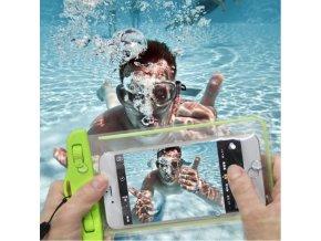 Univerzální voděodolný obal na telefon (Barva Šedá)