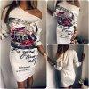 Stylové dámské letní slim šaty + DOPRAVA ZDARMA (Velikost S)