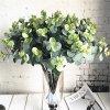 Dekorace zahradní dekorace podzimní dekorace umělé květiny levné umělé květiny jako živé - 16 kusů eukalyptu