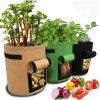 Sázení - zahradní pěstování - pěstování brambor - pěstování rajčete - pěstovací květináč - pěstovací pytel ve velikosti L