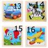 děti - hračky pro děti - dřevěné hračky - vzdělávací dřevěné puzzle - puzzle - dárek pro děti - vánoční dárek