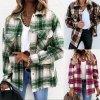 Oblečení - dámské košilová bunda v retro stylu - dámské jarní bundy - výprodej skladu