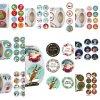 Vánoce - vánoční samolepky vhodné na dárky  - vánoční dárky - samolepky - výprodej skladu