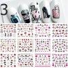 Nehty - krásné dekorativní samolepky na nehty - výprodej skladu - modeláž nehtů - samolepky