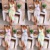 oblečení  - šaty - dámské batikované šaty na ramínka s uvazováním - dámské šaty - letní šaty - batika