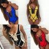 oblečení  - plavky - dámské zajímavé jednodílné  plavky se šněrováním - jednodílné plavky - dámské plavky