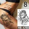 Kosmetika - dekorativní dočasné tetování s různými obrázky - tetování - tetování obrázky