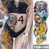 Kosmetika - dekorativní dočasné barevné tetování s různými obrázky - tetování - tetování obrázky