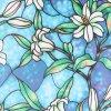 Dekorační mozaika samolepící folie na sklo