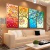 Dekorativní šicí plátno s motivem - 103x57 cm