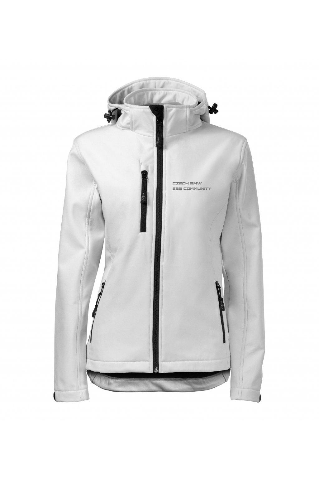 softshell bunda dámská bílá bmw e39 kopie