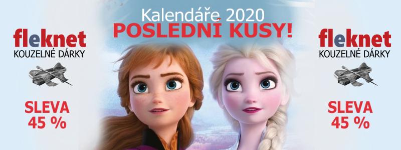 KALENDÁŘE 2020 VÝPRODEJ