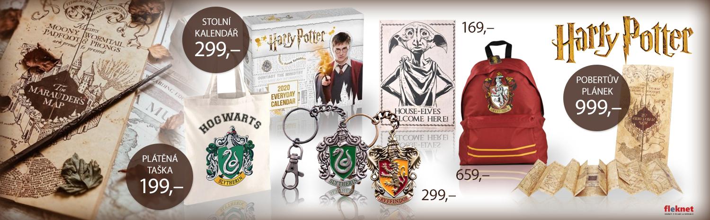 Harry Potter - dárky / Vánoční sleva 10% nad 2000 KČ