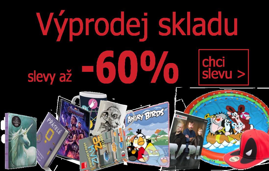 Výprodej skladu -60% I Dárky z filmů a seriálů I Fleknet.cz