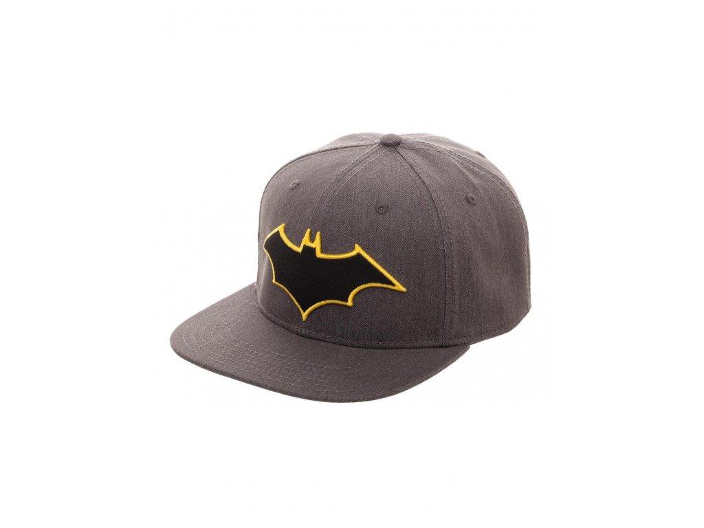 Batman kšiltovka s rovným kšiltem - Fleknet e5ae06470e