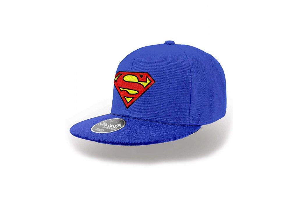 12420f7a55a Superman kšiltovka rovný kšilt - Fleknet
