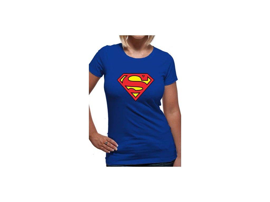 a1ebe5e49b54 Dámské tričko Superman Noste hrdě logo